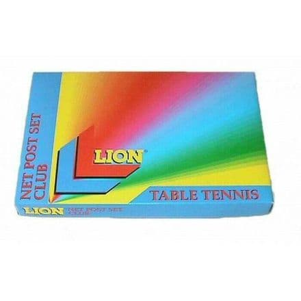 Lion Club Table Tennis Net and Post Set